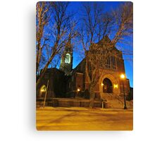 First Lutheran II Canvas Print