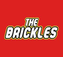 THE BRICKLES in brick font by Customize My Minifig by ChilleeW