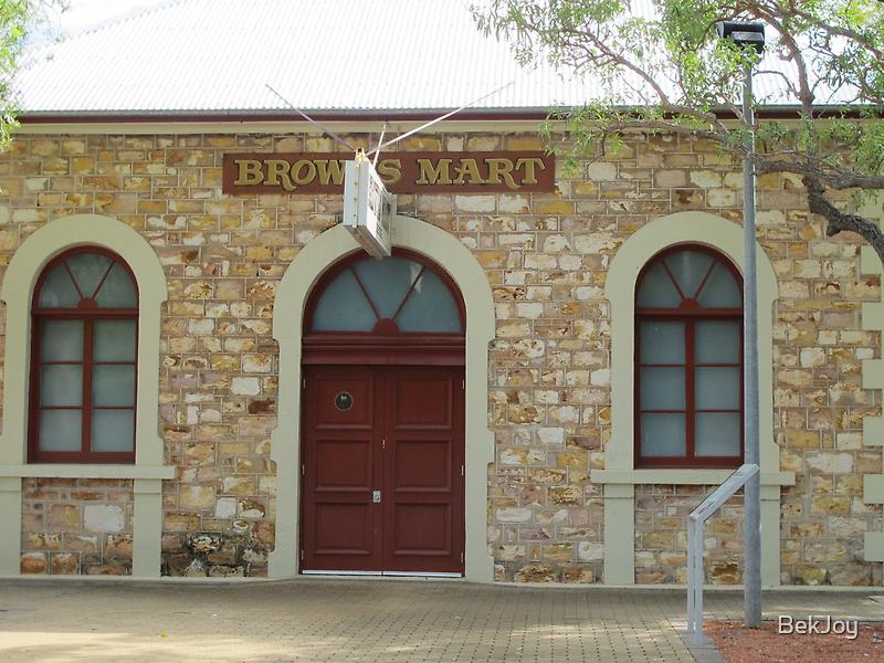 Browns Mart Theatre by BekJoy