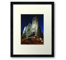 First Congregational Church Framed Print