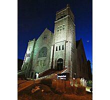 First Congregational Church Photographic Print