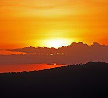 Sunrise over Ngorongoro Crater by TonyKRO