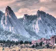 NCAR* and The Flatirons by Greg Summers