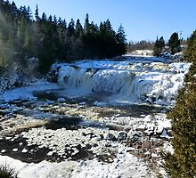 Lepreau Falls in Winter I by Kathleen Daley