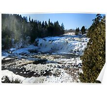 Lepreau Falls in Winter I Poster
