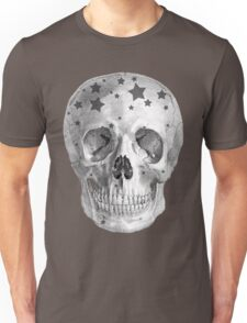 Albinus Skull 06 - Wannabe Star - White Background Unisex T-Shirt