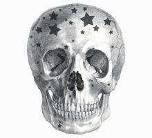 Albinus Skull 06 - Wannabe Star - Black Background Kids Clothes