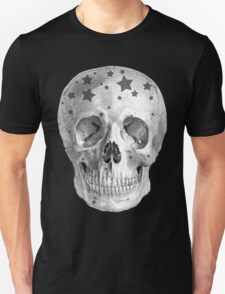 Albinus Skull 06 - Wannabe Star - Black Background T-Shirt