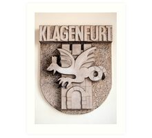 Coat of arms. Art Print