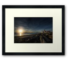 At Land's End Framed Print
