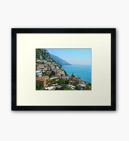 Positano 2 Framed Print