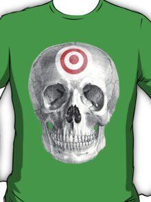 Albinus Skull 07 - Focused Mind - White Background T-Shirt