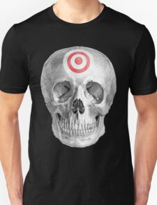 Albinus Skull 07 - Focused Mind - Black Background T-Shirt