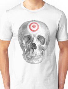 Albinus Skull 07 - Focused Mind - Black Background Unisex T-Shirt