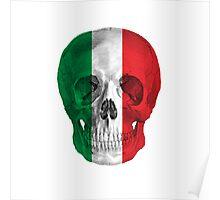 Albinus Skull 08 - Cappuccino Fairy Tale - White Background Poster