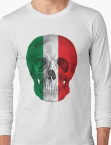 Albinus Skull 08 - Cappuccino Fairy Tale - White Background Long Sleeve T-Shirt