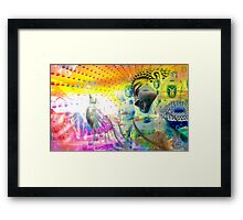 From My Mind To Yours Framed Print