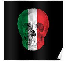 Albinus Skull 08 - Cappuccino Fairy Tale - Black Background Poster