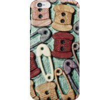 Button Up iPhone Case/Skin