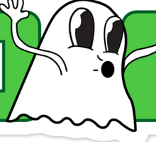 Ghostly! Sticker