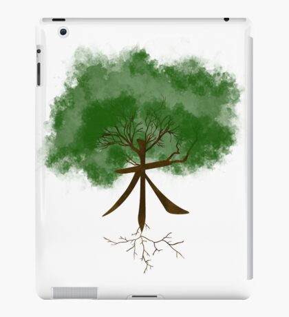 Tree's Kanji iPad Case/Skin