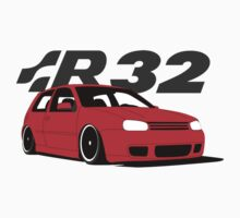 Red MKIV R32 by VolkWear