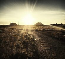 Sundown over Dungeness ii by Citizen