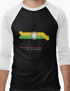 St. George station Men's Baseball ¾ T-Shirt