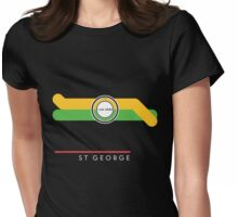 St. George station Womens Fitted T-Shirt