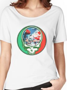 Have a holly jolly grateful Christmas.  Women's Relaxed Fit T-Shirt