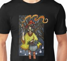 Flaming witch Unisex T-Shirt