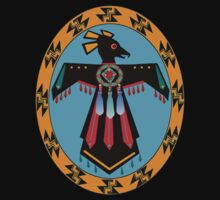 Native American thunderbird by sublimy99