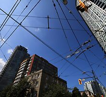 Vancouver Power Lines by MikeMcM