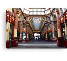 Bobby's on The Beat in Leadenhall Market, London Canvas Print