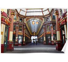 Bobby's on The Beat in Leadenhall Market, London Poster