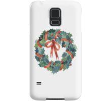 X-mas wreath Samsung Galaxy Case/Skin