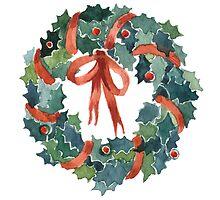 X-mas wreath by flowers4art
