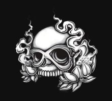 Skull Tattoo Flash by mailorderchild