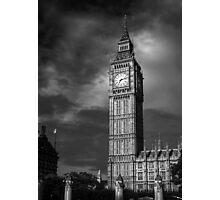 Big Ben 4 B&W Photographic Print