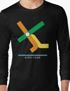 Station Berri-UQAM Long Sleeve T-Shirt