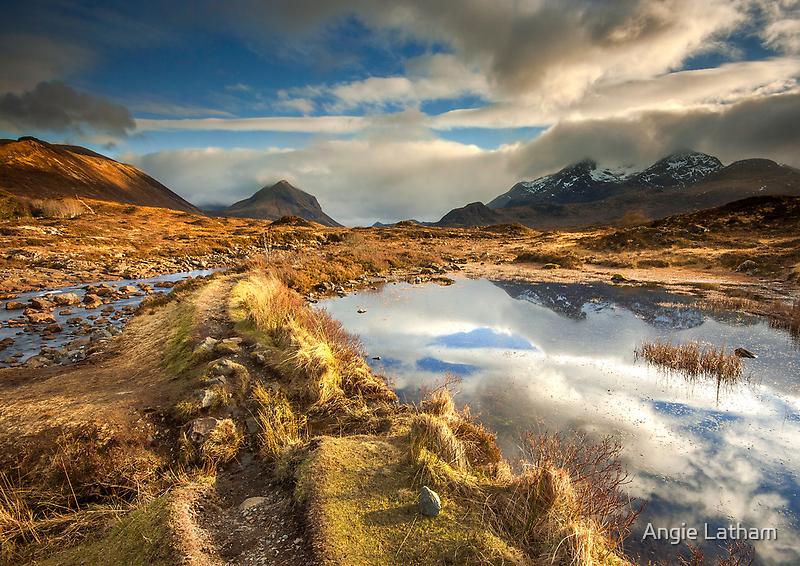 Isle of Skye: Golden Glen Sligachan by Angie Latham