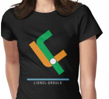 Station Lionel-Groulx Womens Fitted T-Shirt