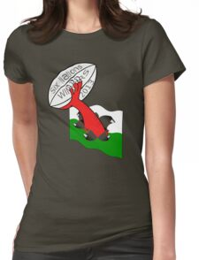 Wales 2013 winners Womens Fitted T-Shirt