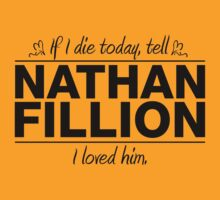 "Nathan Fillion - ""If I Die"" Series (Black) by huckblade"