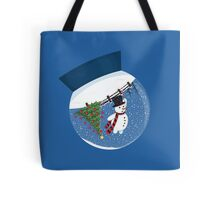 Snow Fall Tote Bag