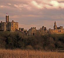 Warkworth Castle by Andrew Pounder