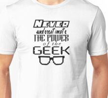 Never Underestimate the Geek Variant Unisex T-Shirt