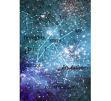 Constellations Photographic Print