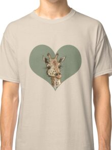 Lovely Lashes Giraffe Classic T-Shirt