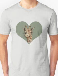 Lovely Lashes Giraffe Unisex T-Shirt
